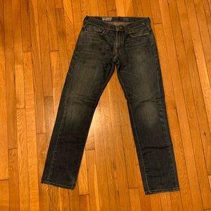 Levi's skinny dark wash jeans